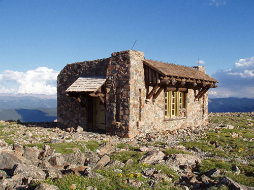 Notch Mountain Shelter